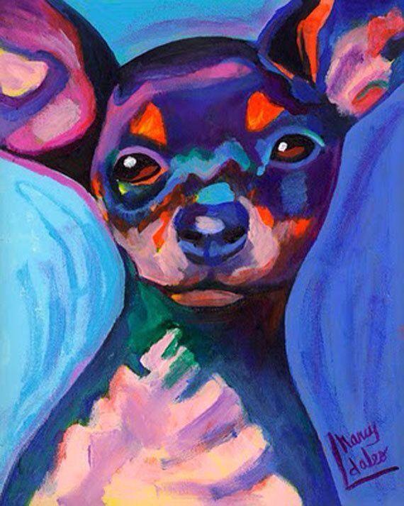 I Love Chihuahua Art❗️