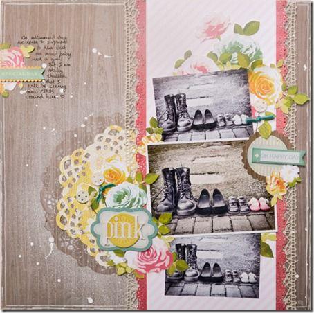 Jess Mutty: Scrapbook Ideas, Photo Scrapbook, Pretty Parties, Scrapbook Inspiration, Scrapbook Com Scrapgoo, Crafts Scrapbook, 1Scrapbook Layout, Scrapbook Pages, Three Photo