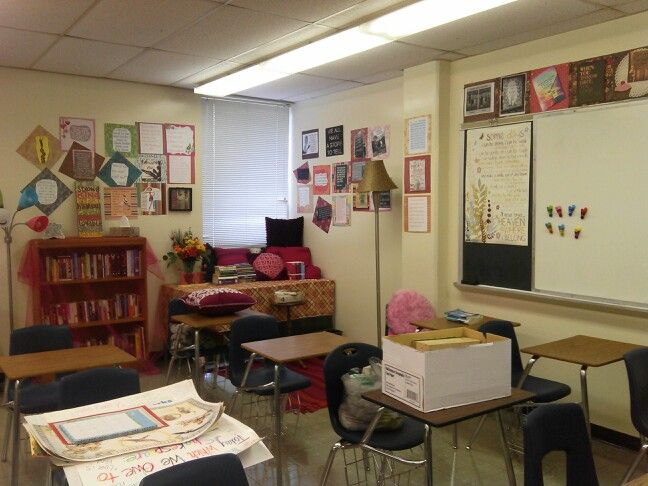 English Classroom Decor ~ Decorating ideas for high school english classroom how