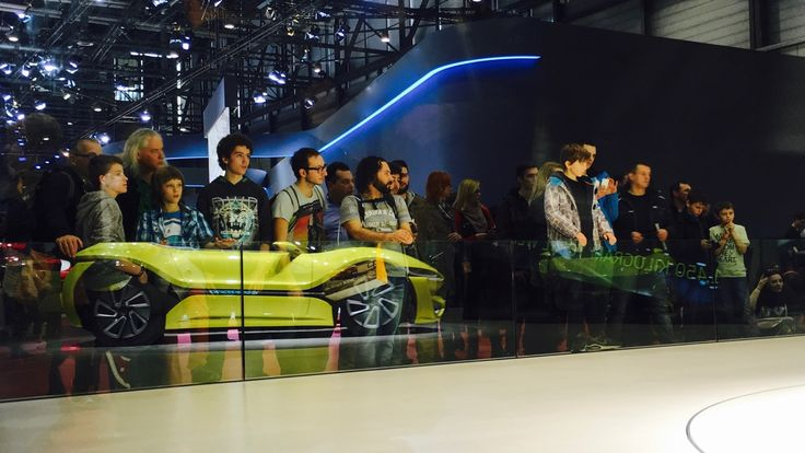 QUANTiNO at the Geneva International Motor Show 2016. #nanoflowcell #quant #flowcell #GIMS #gvamotorshow #Geneva