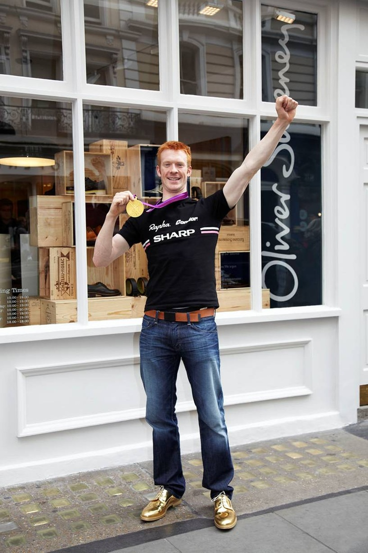 Sweeney for Winners: Gold Medallist & Cyclist Ed Clancy