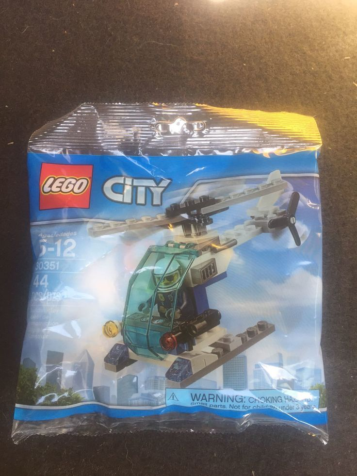 Lego 30351 City Police Helicopter 55 pcs Polybag Minifigure New Sealed