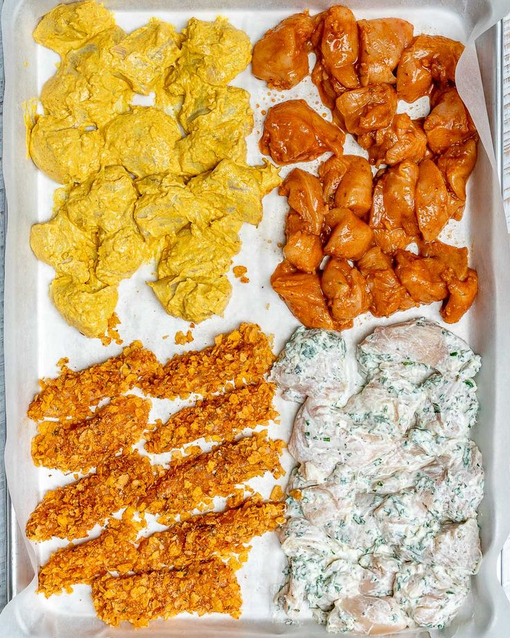 One Sheet Pan Meal Prep Chicken – 4 AWESOME Ways