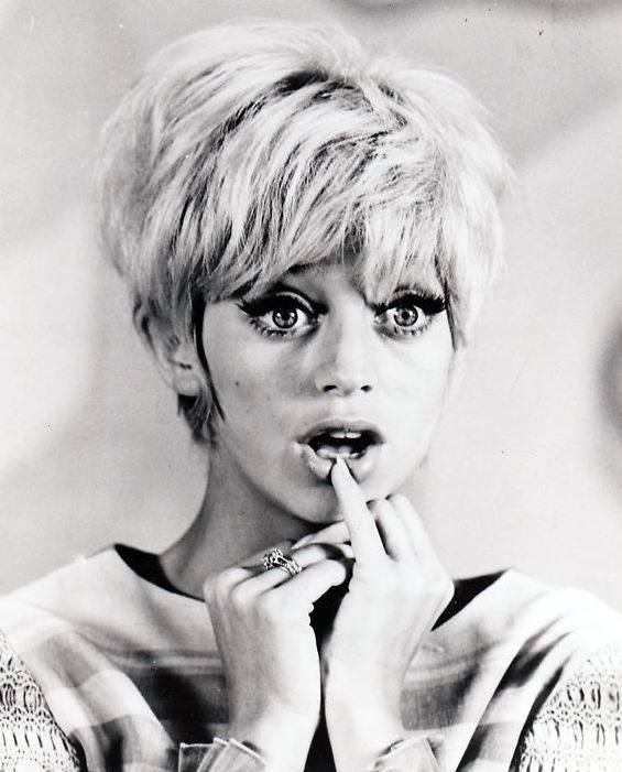 Goldie Hawn – how SN can sometimes look like a Gamine                                                                                                                                                                                 More
