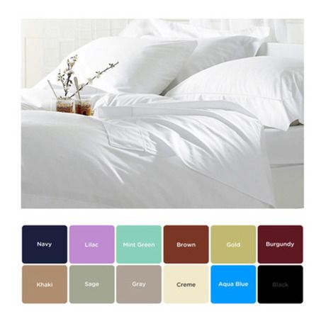 6-Piece Set: Ultra-Soft Egyptian Comfort 1600 Series Double-Brushed Sheets - 12 Colors Available - Save 88% only $29