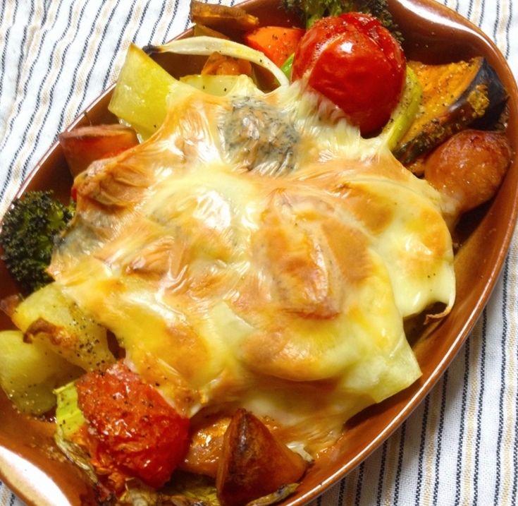 食べたい野菜をオーブンにぶち込む! 超有能「チーズのせ野菜のオーブン焼き」 - メシ通