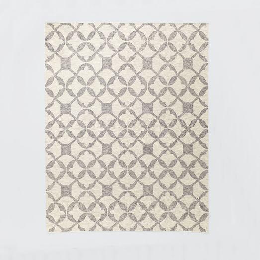 Tile Wool Kilim Rug
