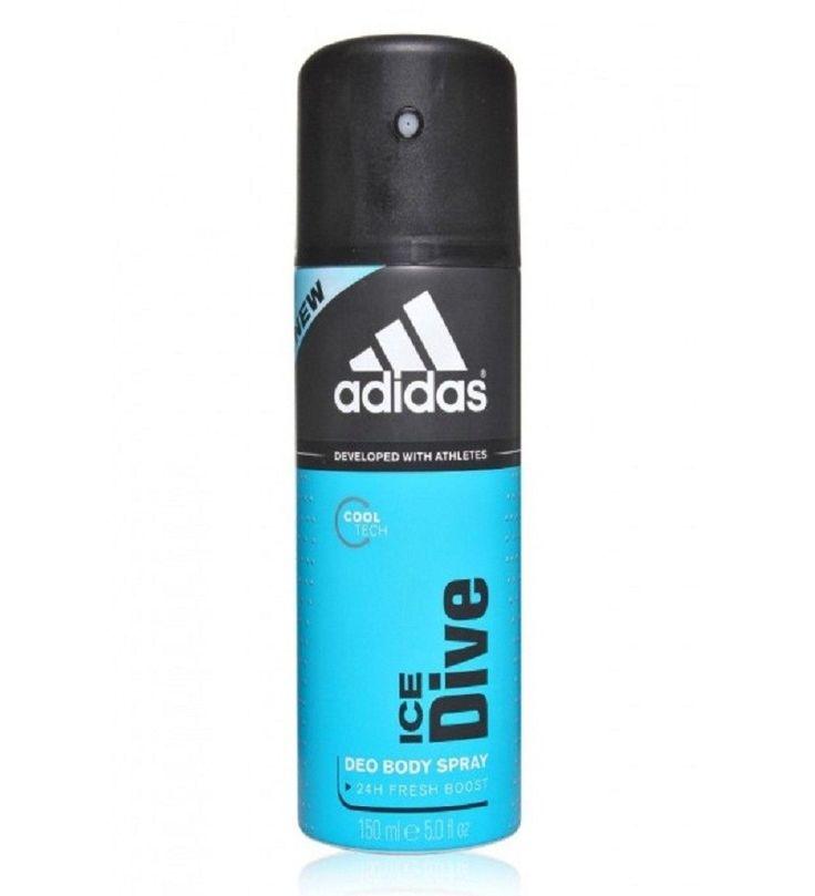 Adidas ice dive deodorants 150ml dove deodorant women