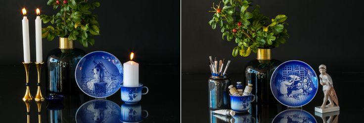 Desiree Christmas Plates - Hans Christian Andersen plates
