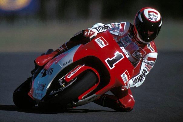 Wayne Rainey: World 500cc Motorcycle Champion 1990, 1991 & 1992