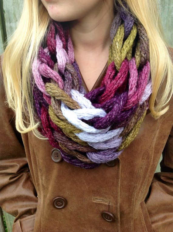 Dash Alpine Arm Knit Cowl Knit Cowl Chunky by RicksChicksBoutique
