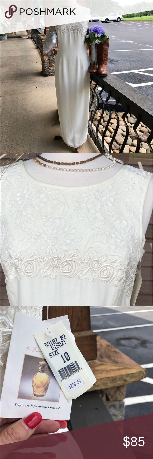 Wedding Dress Beautiful Ivory Wedding Dress new with tags Jessica McClintock Dresses Wedding