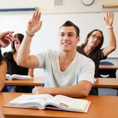 """""""I'll pass out two or three poker chips to every student. As we begin the discussion I ask each student to give me back a chip each time they answer a question. Rapidly the talking students use up their chips. Since they can no longer speak in the class it leaves the non-talking students to answer the remaining questions."""" @Hannah Mestel Mestel Mestel Mestel Spencer"""
