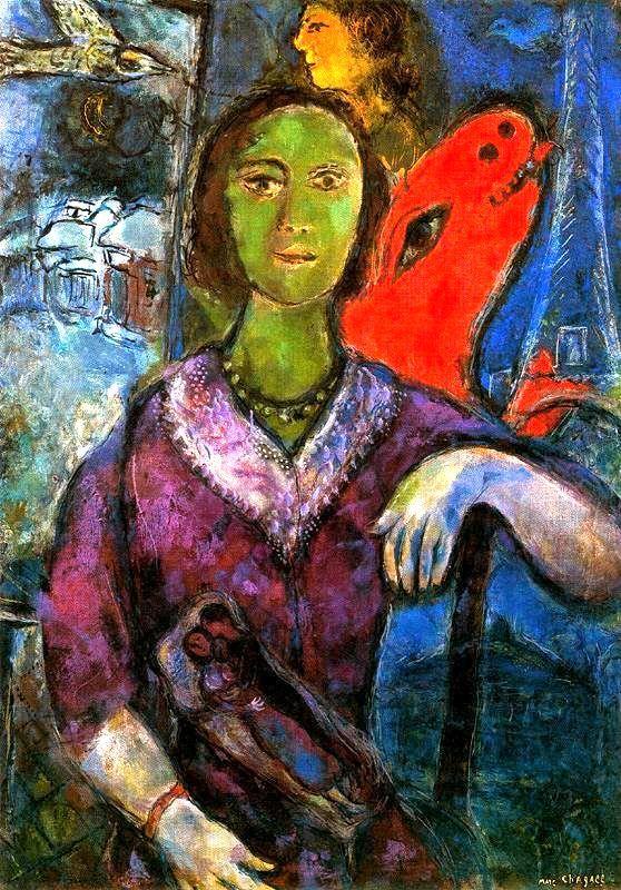 nataliakoptseva:  Marc Chagall