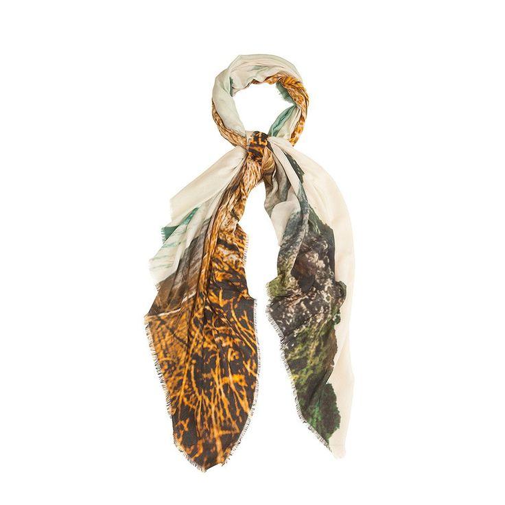 Bird & Knoll - new zealand | piha waves - luxury cashmere blend scarf #birdandknoll
