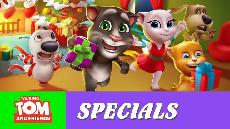 Talking Tom and Friends - The Best Year Ever xo, Talking Angela #TalkingAngela #LittleKitties #MyTalkingAngela #TalkingTom #TalkingFriends #TalkingHank #TalkingGinger #TalkingBen