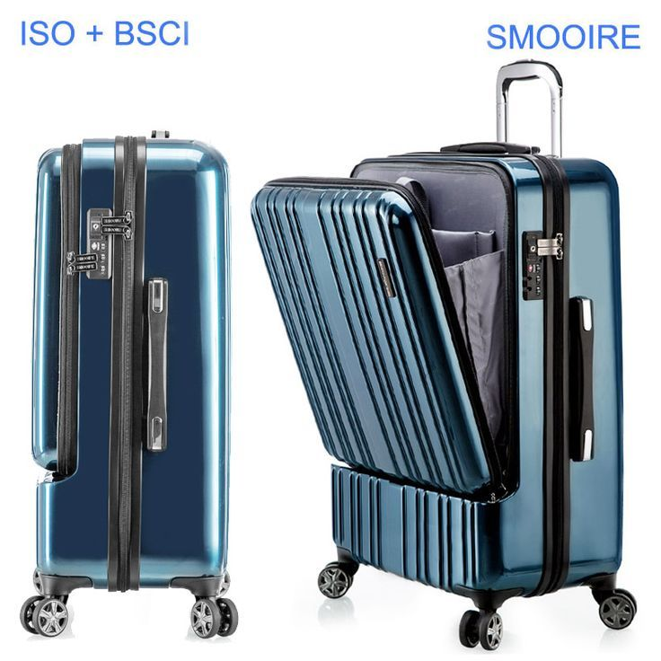 Big brand design polycarbonate PC travel trolley luggage