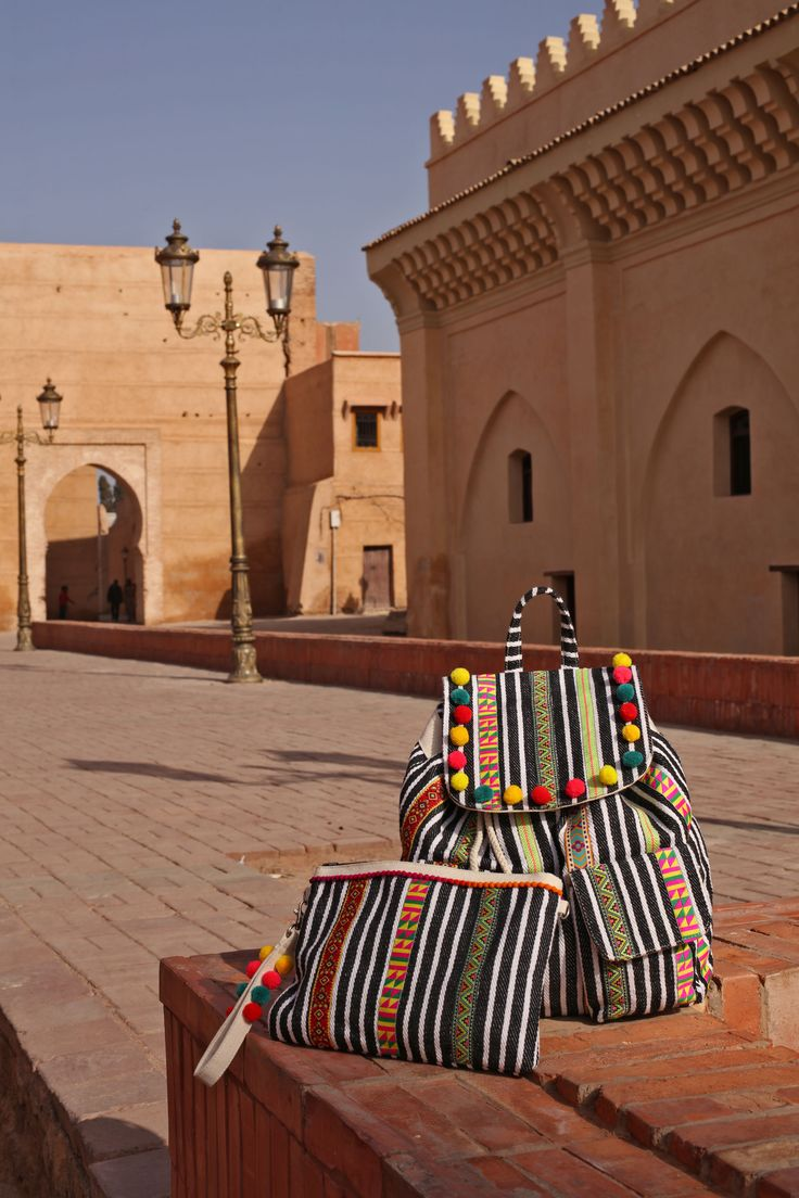 Explore the throbbing heart of Marrakech with #Selam bags.