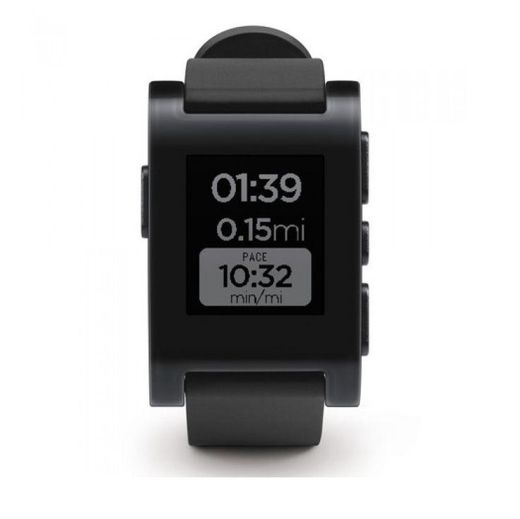 Pebble Smartwatch Classic Jet Black 301BL- ElectroStudio