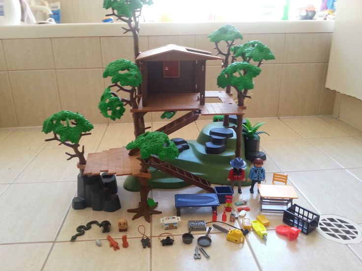 17 best images about kid activities toddler and preschool for Casa del arbol playmobil carrefour
