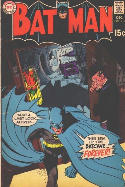 Batman 217 by Neal Adams