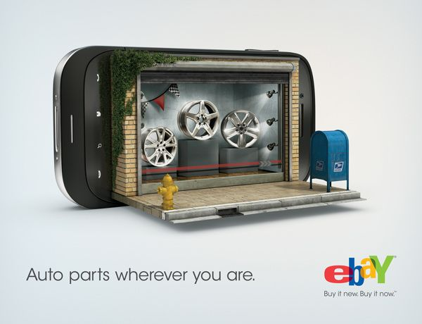 ebay - phone stores on Advertising Served