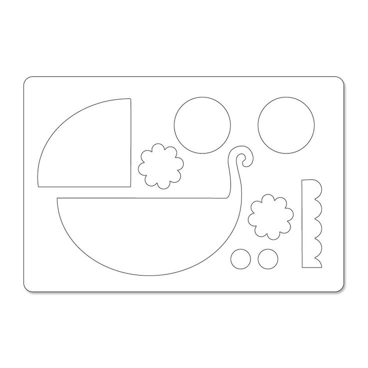 free clipart of a baby stroller
