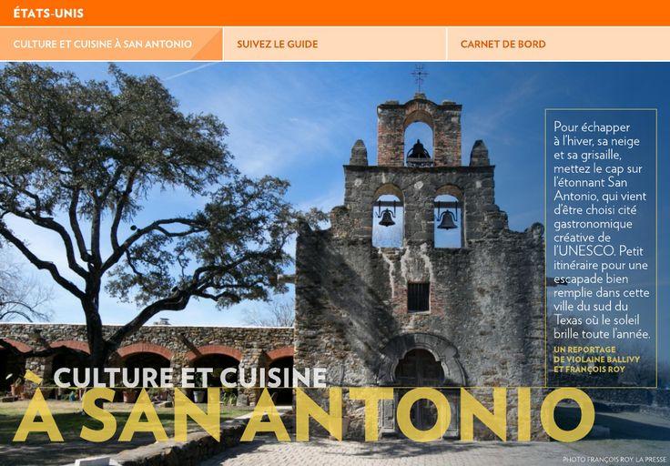 Culture et cuisine à San Antonio - La Presse+