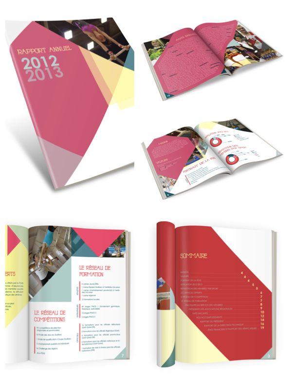 Rapport annuel Fédération de gymnastique du Québec 2012-13 ---- www.basilikdesign.com
