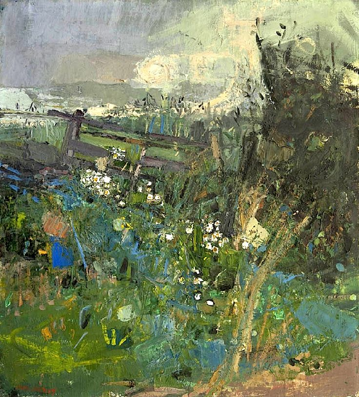 Flowers by the Wayside by Joan Eardley (UK)