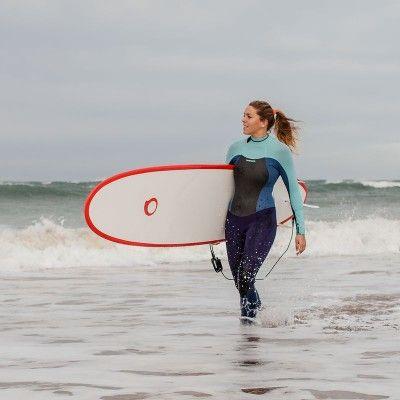 Wassersport_Surfen_BekleidungNeopren Surfen, Strand, Drachen - Neoprenanzug Surfen 900 Damen TRIBORD - Strand- und Neoprenbekleidung