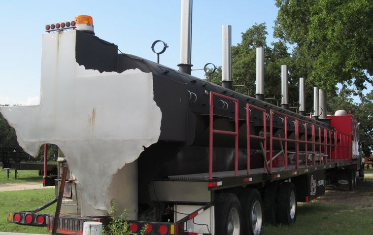 Undisputable Cuz, A Giant 40-Ton, 75-Foot-Long Barbecue Pit Up for Sale on eBay