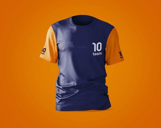 Download Free Download Sports Shirt Mockup With Brand Logo Free Psd Sports Shirts Shirt Mockup Wholesale Shirts