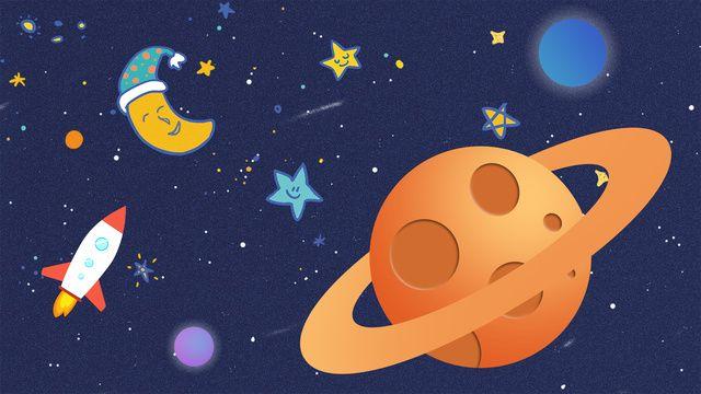 رائد فضاء الكون كوكب الفضاء السماء المليئة بالنجوم رسمت باليد كرتون صورة توضيحية على Pngtree غير محفوظة الحقوق Abstract Iphone Wallpaper Space Exploration Illustration Illustration