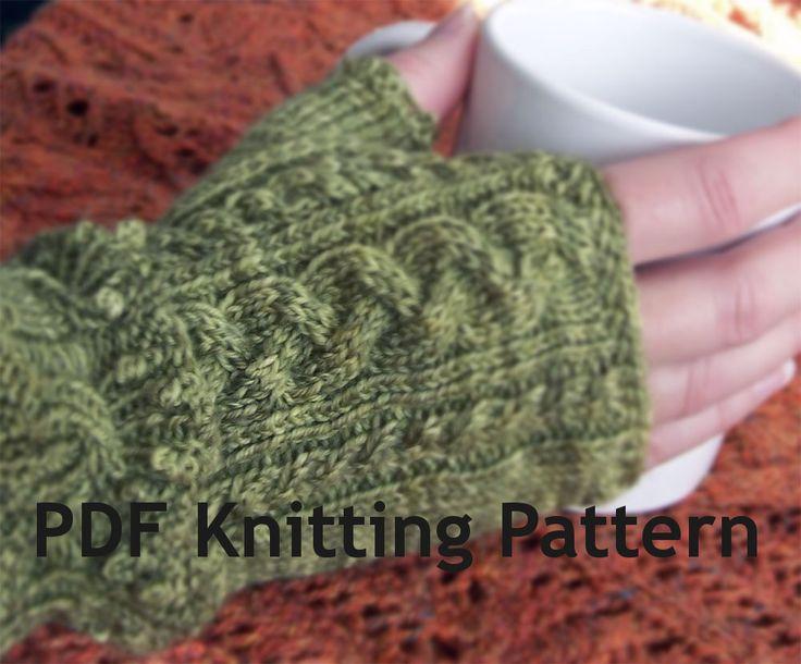 Pattern - Clarissa Mittens and Gauntlets
