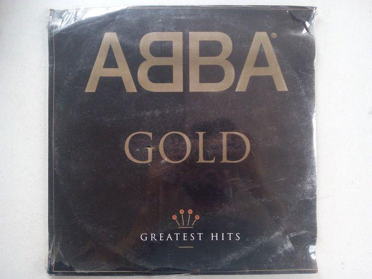 Abba Gold greatest hits Sealed Lp Vinyl Record Dancin Queen Knowing Me Mamma Mia #PopRock