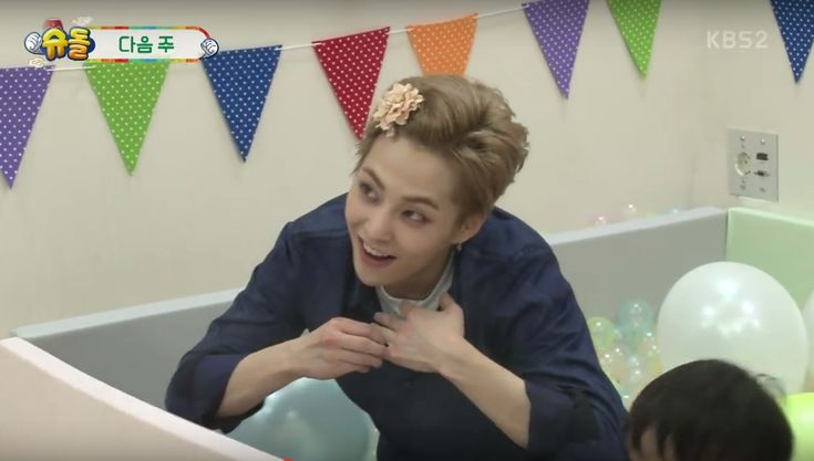 "Watch: EXO's Xiumin And Chen Surprise SoDa Siblings In ""The Return Of Superman"" Preview 