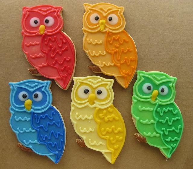 amazing owl cookies!
