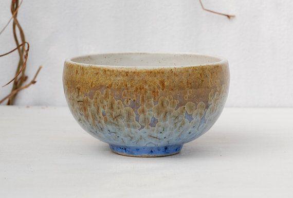 Shallow bowl, tea bowl, crystalline pottery, crystal ceramic , tea ceremony, tea cup, dessert bowls, wheel thrown, stoneware bowl, decor.