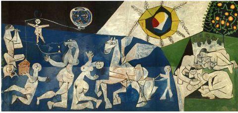 ピカソ 戦争と平和