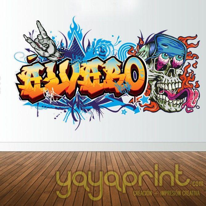 M s de 1000 ideas sobre dormitorio de graffiti en for Graffitis para ninos