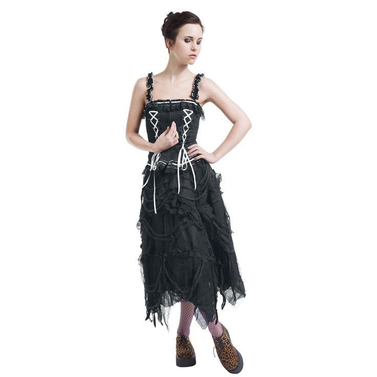 Gothic Corset Top - Top Mujer por KuroNeko - Número Artículo: 263045 - desde 37,99 € - EMP Mailorder España - http://emp.me/BYE
