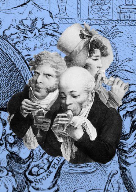 18th Century Ice Cream - Tasha Marks.png. 18th century Londoners enjoying some ice cream!