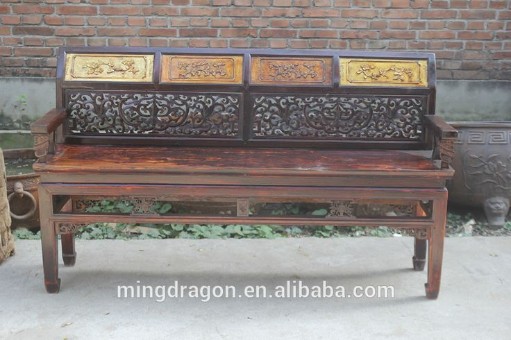 Chinese antique style hand carved solid wood sofa set, View Antique hand carved wood bedroom set, Sinocurio Product Details from Beijing Songshi Furniture Factory on Alibaba.com