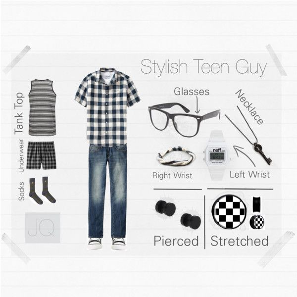 Stylish Teen Guy #1, created by #stylish-teen-guy on polyvore.com