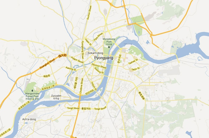 Google unveils detailed North Korea map - Asia-Pacific - Al Jazeera English