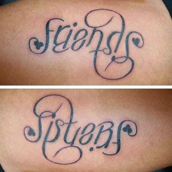 Pin By Christine Jarmer On Tats I Like: If You're Wondering What Exactly An Ambigram Is, Trust Us