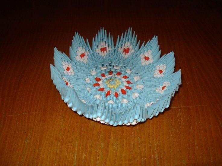 3D Origami Diamond Plate Tutorial
