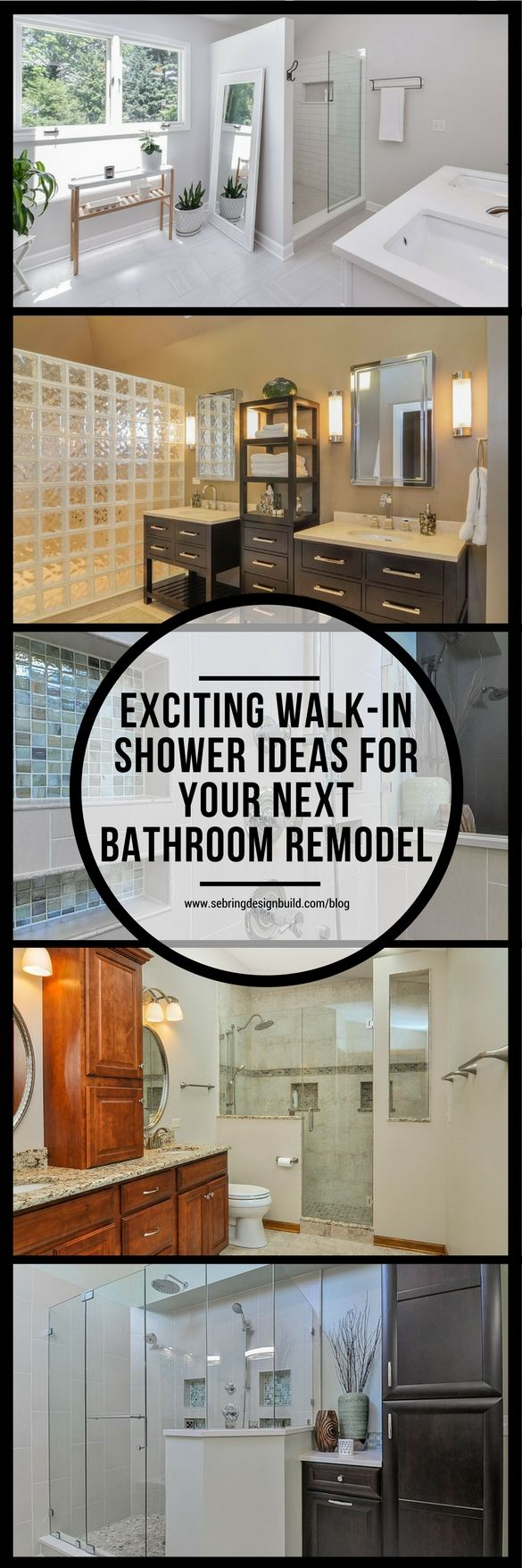 Whether your bathroom is big or small, it can, in all likelihood, accommodate a walk-in shower. Your bathroom can go from blah to beautiful with some careful planning and design, increasing both the value of your home and your enjoyment of the space. The first and possibly most important step before making remodeling your bathroom is to gain insight on what size and style of walk-in shower your space will allow.