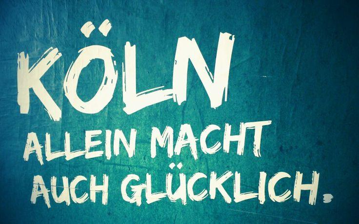Köln allein...
